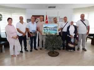 Bosna'dan Burhaniye'ye dostluk ziyareti