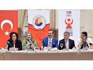 TTSO - TOBB Kadın Girişimcilerinden Hisarcıklıoğlu'na ziyaret