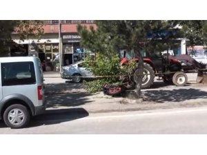 Bayburt'ta trafik kazası: 1 ölü, 1 yaralı