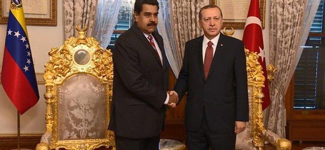 Venezuella altınlarını Türkiye'ye gönderiyo