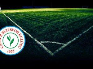 Çaykur Rizespor'dan transfer açıklaması
