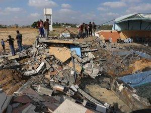 İsrail Gazze'de 150 noktayı vurdu