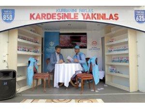 Türkiye Diyanet Vakfında kurban çağrı merkezi ve bağış standı hizmeti