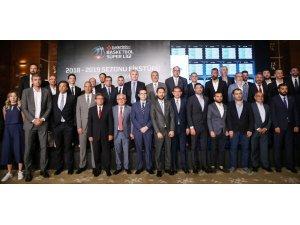 Tahincioğlu Basketbol Süper Ligi fikstür kura çekimi yapıldı