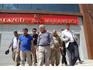 Diyarbakır Büyükşehir Belediyesi kayyumundan Malazgirt kayyumuna ziyaret