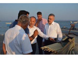 KİT Başkanı Savaş, Dalyan'daki tonoz projesini inceledi