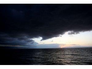 Yağmur bulutları yeniden Karadeniz üstünde