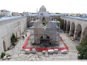 Sekiz asırlık Selçuklu mirası Sultanhanı Kervansarayı restore ediliyor