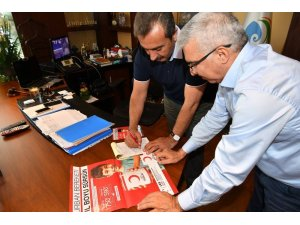 Başkan Çetin'den Türk Kızılay'ına kurban bağışı