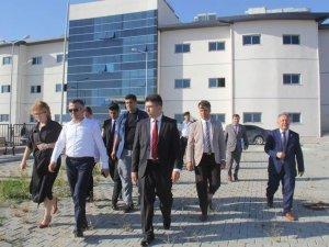 Vali Bilgin, Pınarhisar'da incelmelerde bulundu