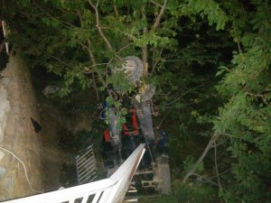 Çapa motoru devrildi: 7 yaralı