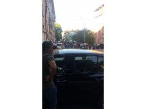 Başkent'te iki grup arasında taşlı sopalı kavga