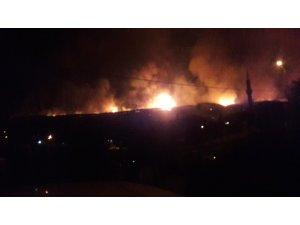 Kastamonu'da ormanlık alanda çıkan yangın devam ediyor