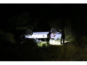 Zonguldak'ta trafik kazası; 1 ölü 2 yaralı
