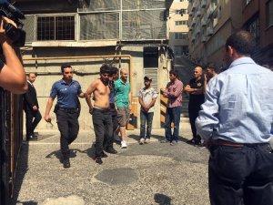 Taksim'de Arap turiste gasp şoku