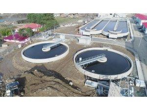 """Başkan Yakar: """"Bölgemizin ilk atık su tesisi Bulancak'a yapıldı"""""""