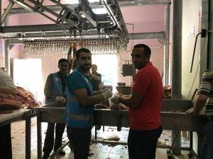 Bingöl'de 20 bin kişiye kurban eti dağıtıldı