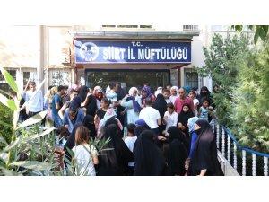 Siirt'te kurbanlık et izdihamı