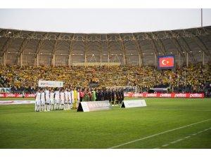 Spor Toto Süper Lig: MKE Ankaragücü: 1 - Trabzonspor: 1 (İlk yarı)