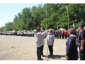 İzciler dedelerini anmak için Malazgirt'te buluştu