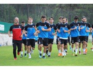Karabükspor Altınordu maçı hazırlıklarını sürdürüyor