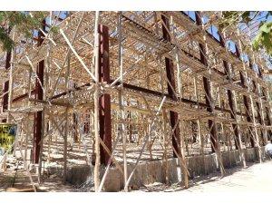 Gaziantep Hayvanat Bahçesi'ne yeni maymun evi