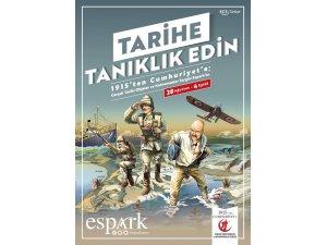 """""""Çanakkale'den Cumhuriyet'e"""" sergisi Espark'ta"""