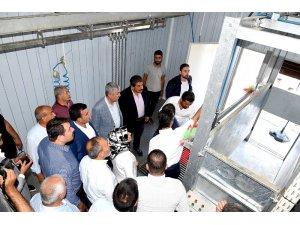 Pütürge'de mobil kesimhanenin açılışı yapıldı