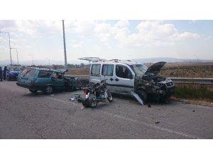Bolu'da zincirleme trafik kazası: 1 ölü, 5 yaralı