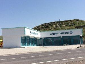 Damal Otobüs Terminali tamamlandı