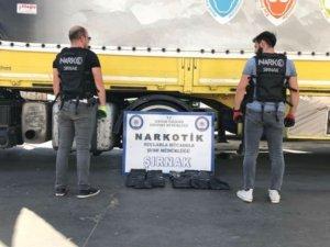 Şırnak'ta 25 kilogram uyuşturucu maddesi ele geçirildi