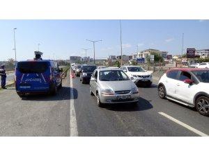 Jandarma ve polisten Silivri'de ortak uygulama