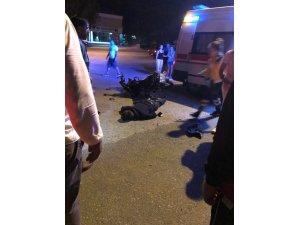 Ortaca'da motosiklet kazası; 1 ölü