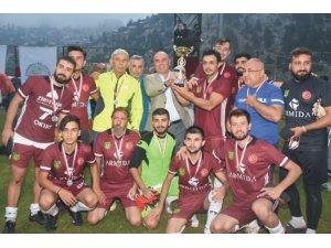 Hacımusalıspor Kızıldağ'ın şampiyonu oldu