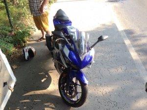 Sarıyer'de feci motosiklet kazası kamerada