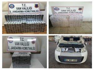 Jandarma'dan kaçak sigara operasyonları