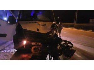 Geçen hafta kaza yapan motosiklet sürücüsü hayatını kaybetti