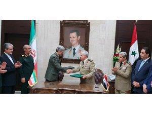 İran ve Suriye'den askeri alanda işbirliği