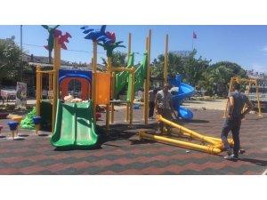 Burhaniye'de parklar kentin çehresini değiştirdi
