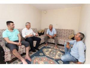 Başkan Yaralı'dan Kuzey Irak gazisine ziyaret