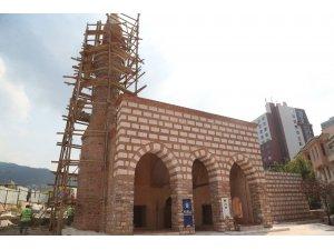 Kefensüzen Camii'nde son rötuşlar