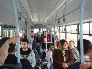İnegöl'de köylere otobüs geliyor