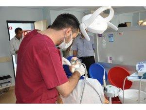 Kızıltepe Ağız ve Diş Sağlığı Merkezi'ne bölge ilçelerinden yoğun ilgi