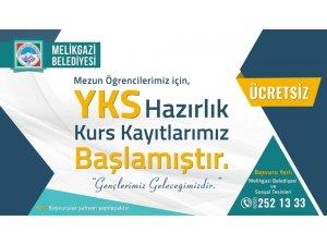 Melikgazi'de ücretsiz YKS hazırlık kurslarına kayıtlar başladı