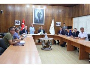 Kütahya'da Toprak Koruma Kurulu Toplantısı yapıldı