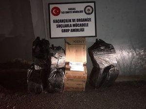 Başkale'de 4 bin 500 paket kaçak sigara ele geçirildi
