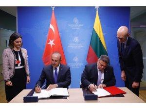 Türkiye-Litvanya arasında Yatırımların Karşılıklı Teşviki ve Korunması Anlaşması imzalandı