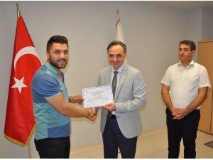 Mardin'de 30 girişimci sertifikasını aldı