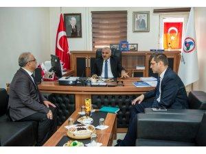 Vali Zorluoğlu'ndan kamu kurumlarına ziyaret