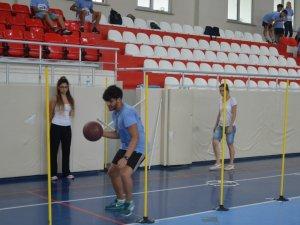 Spor Bilimleri Fakültesi'nde Özel Yetenek Sınavları başladı